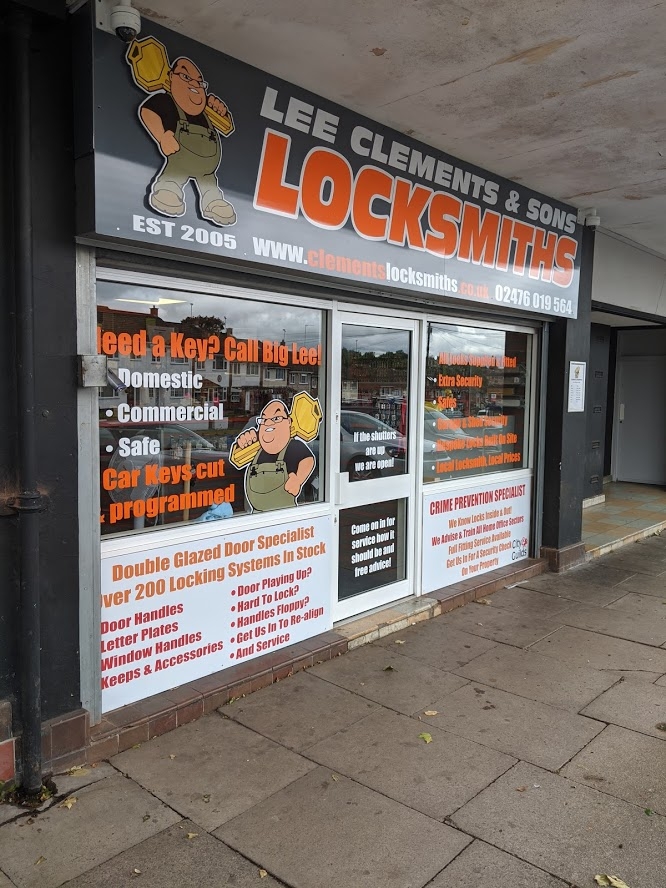 Coventry Locksmith and Key Cutting Shop