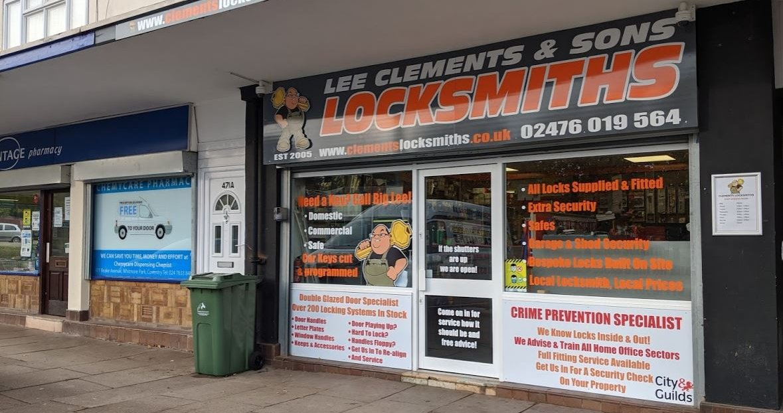 Coventry locksmith shop