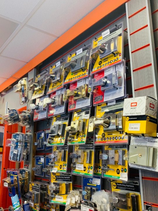 Locksmith Products Coventry Shop