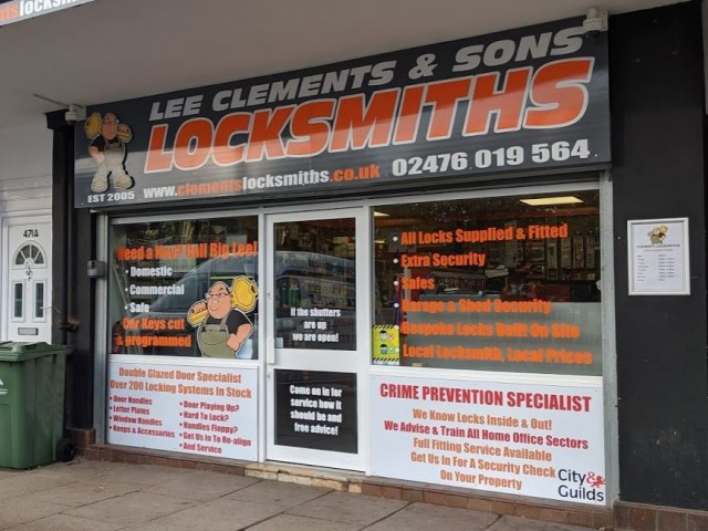 Key cutting Shop in Coventry